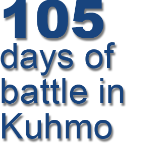 105 days of battle in Kuhmo